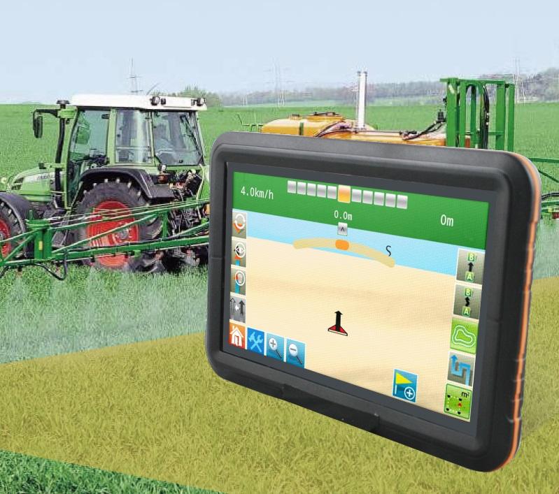 Високо прецизна система за GPS насочване на селскостопанска техника