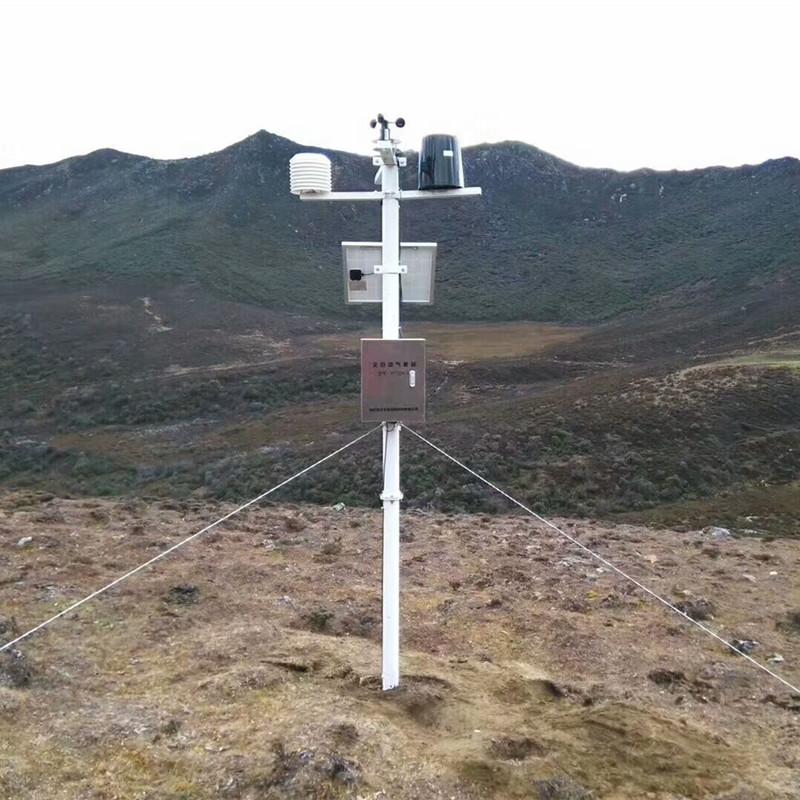 Безжична метеорологична станция от неръждаема стомана